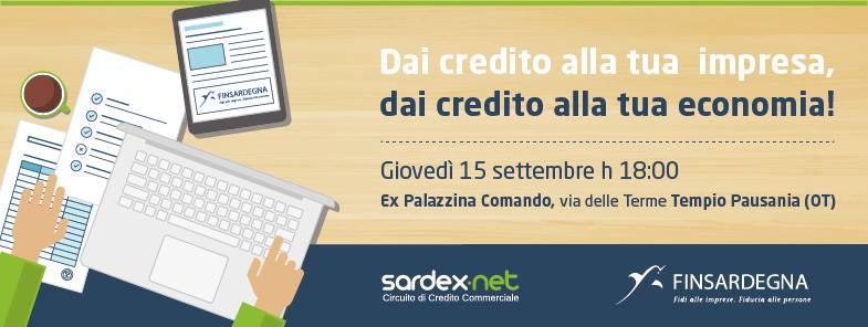 A Tempio Pausania meeting Sardex – Finsardegna, giovedì 15 settembre.