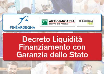 Finanziamenti Decreto Legge Liquidità Emergenza Corona Virus con Garanzia dello Stato al 100%