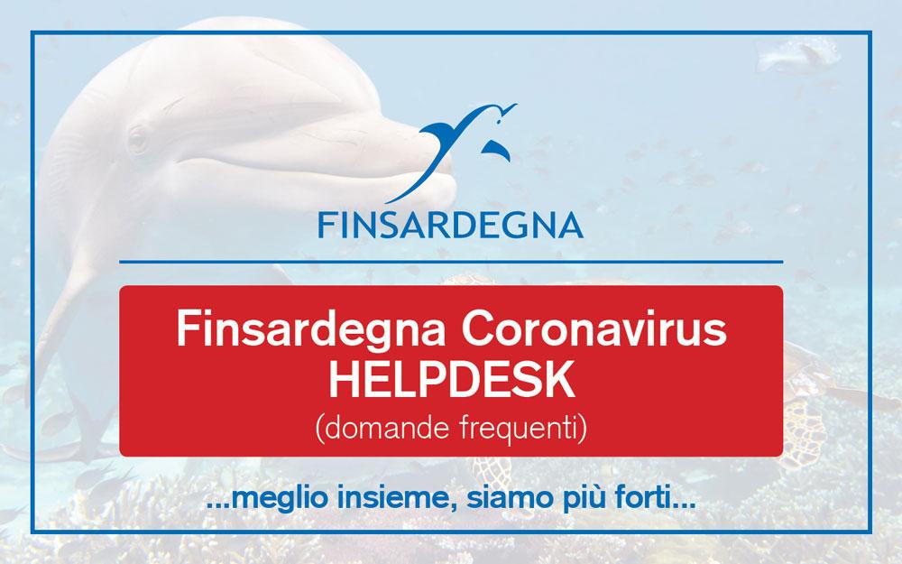 Finsardegna Coronavirus HelpDesk: Domande Frequenti