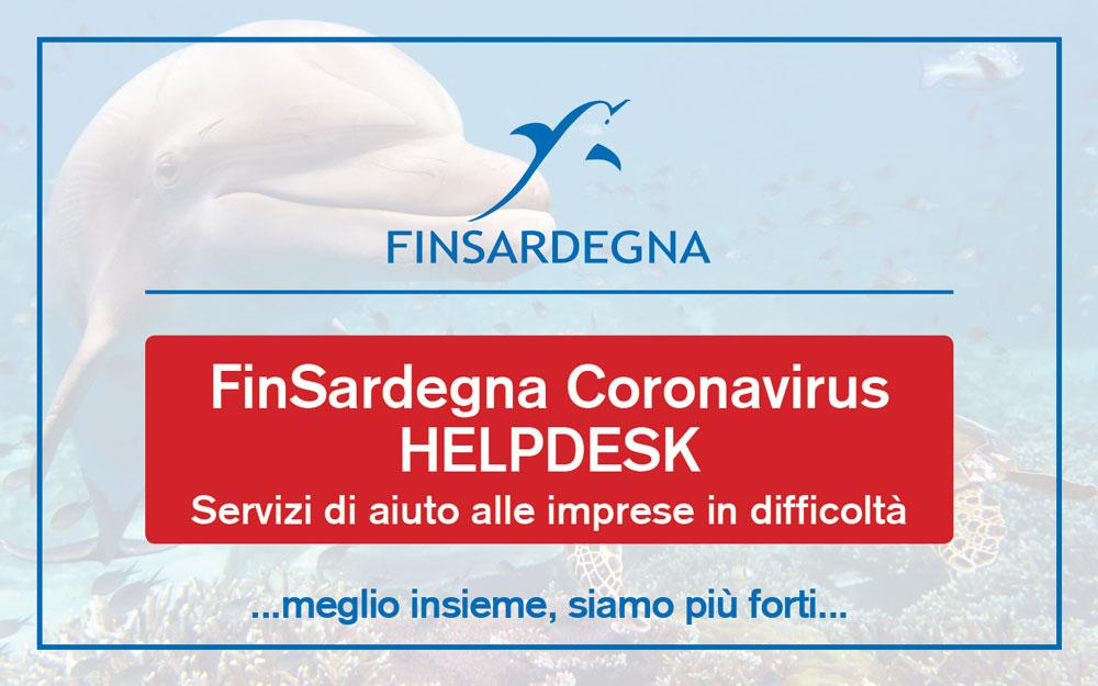 FinSardegna Coronavirus HelpDesk – Servizi di aiuto alle imprese in difficoltà